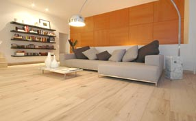 DuChateau Hardwood Flooring White Oiled Green Product