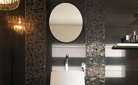 Porcelanosa Moon Negro Marquine Wall Tile