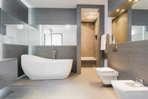 Modern Bathroom Flooring and Design