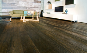 DuChateau Hardwood Flooring Finesawn Collection Ebony