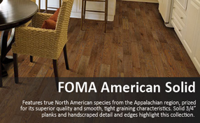Hallmark Hardwood Flooring Foma American Solid Collection