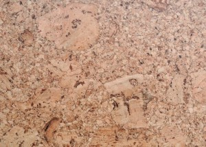 Pattern of yellow brown cork board furniture for interior flooring