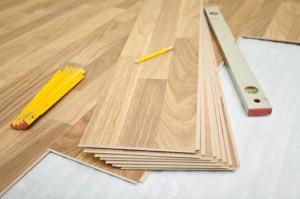 Laminate floor installation - home improvement