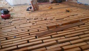 flooring underlayment or foundation