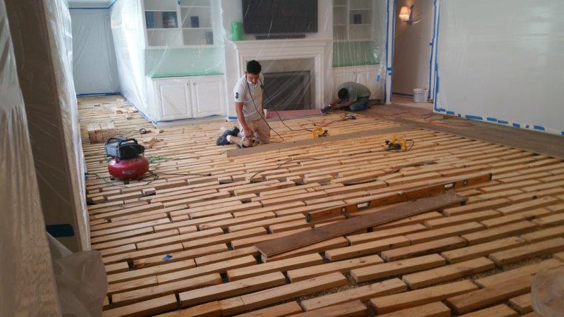 Tips On Preparing Floors For New, How To Prepare Floor For Laminate Flooring