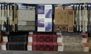 Rug runner sellection at Timberline Flooring Houston