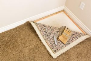 Rug or carpet installation in Houston