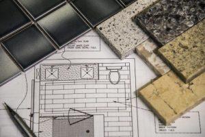 Bathroom tile flooring project