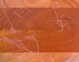 Scratches in Hardwood Flooring