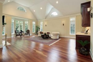 Modern Hardwood design of living room