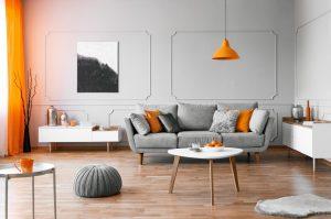 Home designed modern with Hardwood floor