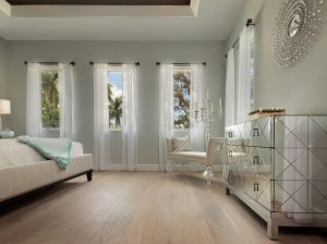 Bedroom with Luxury Flooring