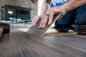 Luxury Textured Planking Installation