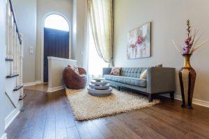 Luxury Hardwood Flooring design of home entrance