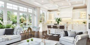 Beautiful house with Engineered Flooring